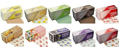 Rips Rolls Rolling Papers - Any Flavour Of Your Choice Pack Deals - FREE POST