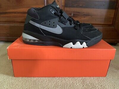 size 40 194c4 5f2be Nike Air Force Max Cb Barkley Fab Five Black Grey White Size 12 315065 001