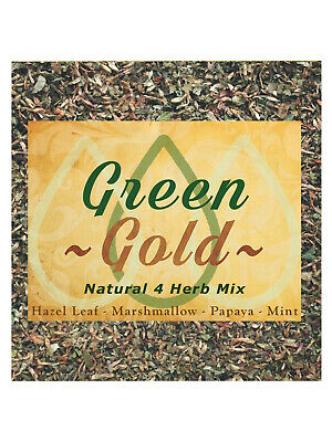 Green Gold - Natural 4 Herb Mix Coffee Shop Blend Herbal Alternative Replacement