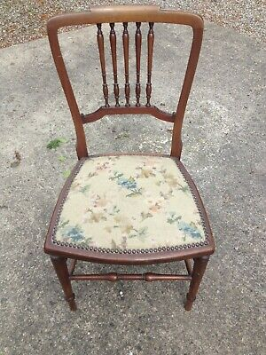 Antique Tapestry Upholstered chair