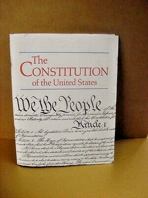 BRAILLE - CONSTITUTION OF THE UNITED STATES - for the visually impaired or blind