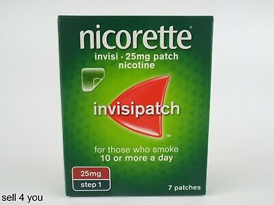 Nicorette Invisi Patch 15mg Step 1 - Pack Of 7 Patches