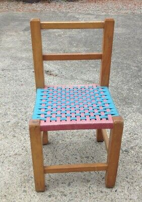 Groovy 1970S Vintage Wooden Childs Chair 20 00 Picclick Uk Pdpeps Interior Chair Design Pdpepsorg
