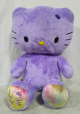 952ba197d 3 PURPLE HELLO KITTY, Elephant, Bunny BUILD A BEAR LIm. Ed. PLUSH 18 ...