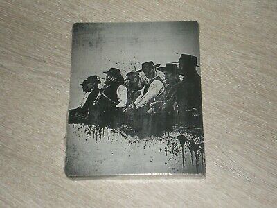 Blu-ray Steelbook Les 7 Mercenaires The Magnificent Seven NEUF SOUS BLISTER