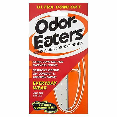 Odor-Eaters ULTRA COMFORT Deodorising Comfort Insoles Everyday Wear and Washable
