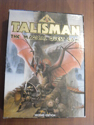 Talisman: The Magical Quest Game (1986) 2nd Edition – Games Workshop