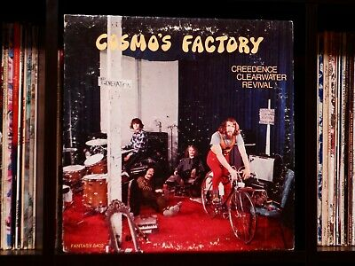 Creedence Clearwater Revival ♫ Cosmo's Factory ♫ 1970 Fantasy 1st Press Vinyl LP