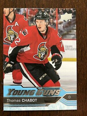 Thomas Chabot 16/17 Upper Deck Young Guns Rookie RC