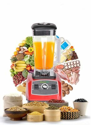 2200w Heavy Duty Food Processor Blender Fruit Dry Grain Grinder Mixer Crusher