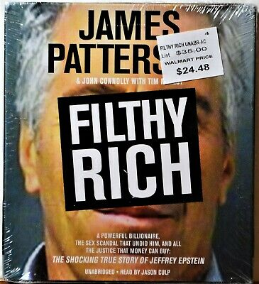 Audiobook 6-CD Unabridged James Patterson Filthy Rich SEALED True Crime Scandal