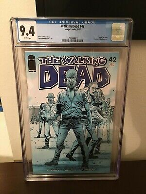 The Walking Dead #42 (2007) Death of Carol 1st Printing CGC 9.8 Governor Returns