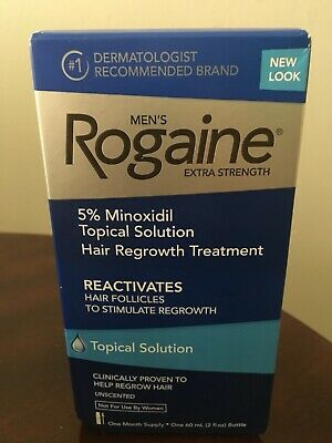 MEN'S ROGAINE HAIR REGROWTH TREATMENT 2 MONTH SUPPLY Expiration 02/2020