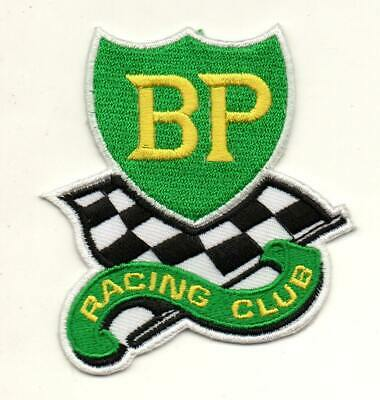 For BP Gas Oil Racing Club Bike P825 Embroidered Iron on Patch High Quality Cap