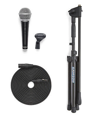 Samson VP10X Microphone Value Pack R21S Mic with MK10 Stand