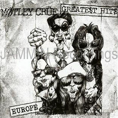 Motley Crue - Greatest Hits - European Cover Edition Factory Sealed 846070038624