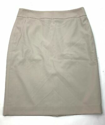 bab35014df Calvin Klein Womens Sz 4 Invisible Fit Solutions Pencil Skirt Career Small  S Tan