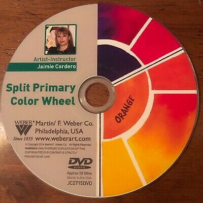 Split Primary Color Wheel -Jaimie Cordero 1 Hour, Best Artist Lesson, Dvd Ever