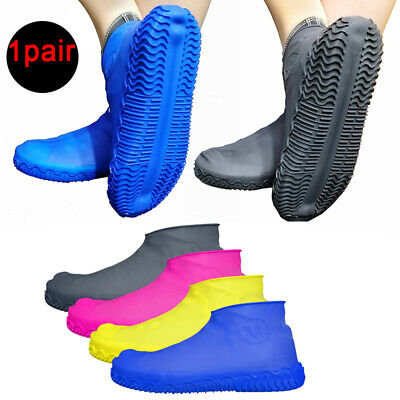 Silicone Overshoes Rain Waterproof Shoe Covers Boot Cover Protector Shoe S/M/L