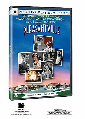 Pleasantville (DVD, 1999) Tobey Maguire, Reese Witherspoon THE MOVIE