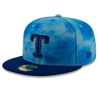 6e266e132303ac New Era Texas Rangers Blue/Royal 2019 Father's Day On-Field 59FIFTY Fitted  Hat
