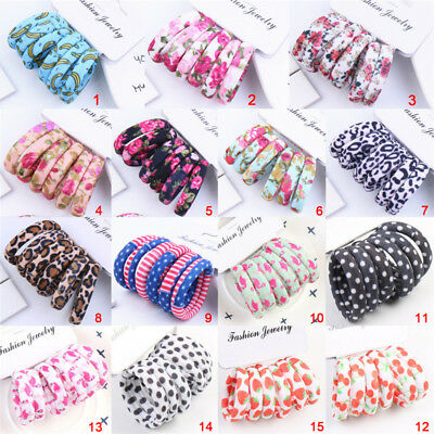 Girl Kids Tiny Hair Bands Elastic Ties Ponytail Holder Thick Bobbles HairBand CP