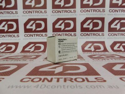 Sprecher + Schuh CA7-PV-S11 Auxiliary Contact 1NO/1NC - New Surplus Open
