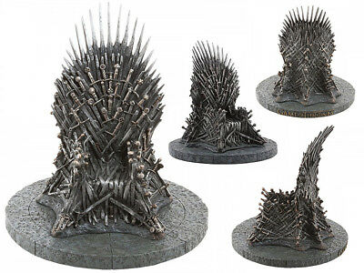 18cm Game of Thrones King Iron Sword Throne Model Decoration Figurine Statue