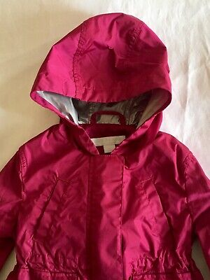 Burberry Coat Child Baby Girl 6 Months Brand New Waterproof Spring Jacket