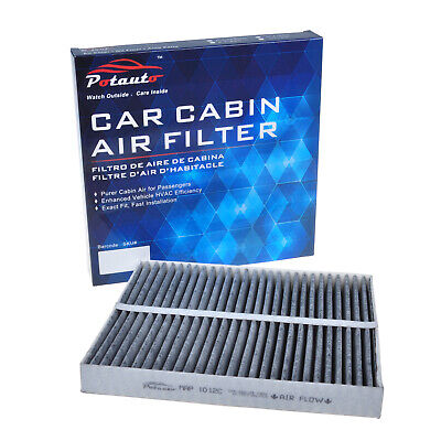 POTAUTO MAP 1012C Activated Carbon Cabin Air Filter Replacement Fits MAZDA