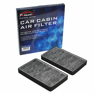 POTAUTO Cabin Air Filter Fits Cadillac Escalade,Chevrolet,Avalanche,Silverado