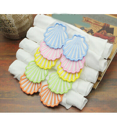 Baby Sweat Towel Baby Soft Back Dry Wipe Cloth shell Shaped Absorb Towel DM