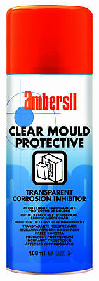 Ambersil 31547 Wax Anti-Corrosion Film - Clear Mould Protective 400Ml