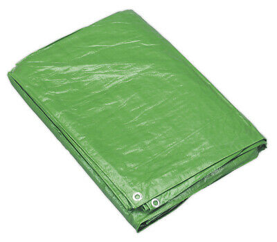 Sealey Tarp1824G Tarpaulin 5.49 X 7.32Mtr Green