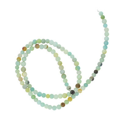 4mm Perles d'Espacement en Vrac Charms Naturel Amazonite Gemstone 15 '' Strand