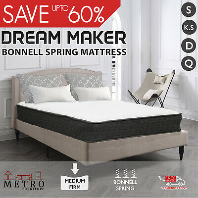 New Dream Maker Knitted Fabric Bonnell Springs Queen Double King Single Mattress