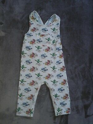 Cath KidstonTransport Baby Dungarees 6-12 Months