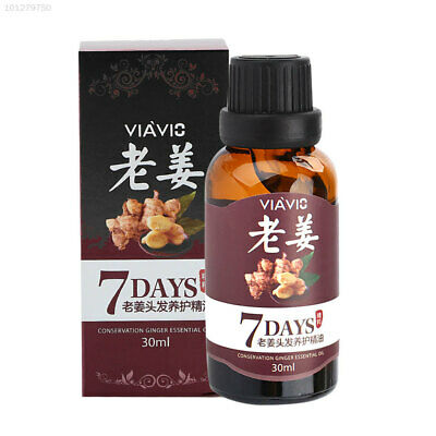 Hair Growth Essential Oil Loss Natural Regrowth Serum Treatment Ginger Liquid