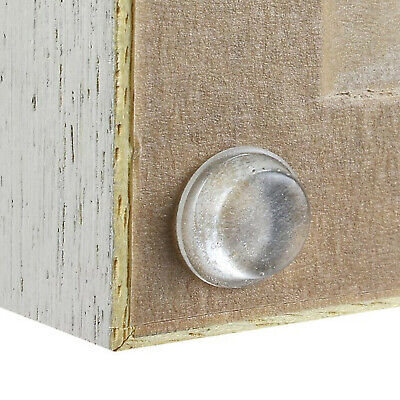 CLEAR DOME BUMPERS 14mm x 4.5mm PICTURE FRAME CANVAS HANGING SELF-ADHESIVE FOOT