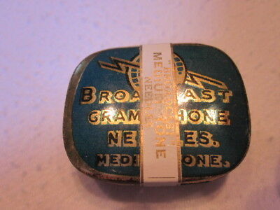 Gramophone Needle Tin Broadcast