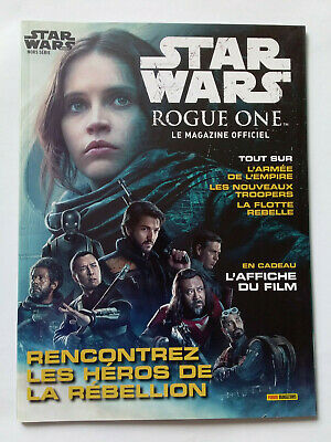 Magazine Officiel Panini Star Wars Insider Hors Serie N°2 Cover 2016 Rogue One
