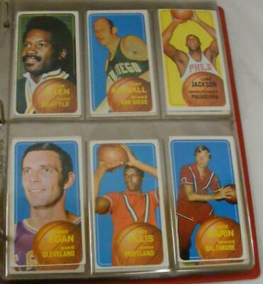175 NBA 1970-1971 Topps Basketball Cards Rookie All Star League Leaders Playoffs