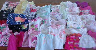 Baby & Toddler Clothing Pieces Jean Dresses Sleepers Huge Lot Of Baby Girl Clothes Newborn 3 Months 40