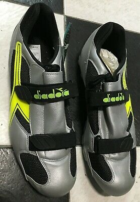 Dettagli su Scarpe bici corsa Diadora road bike cycling shoes size numero 47
