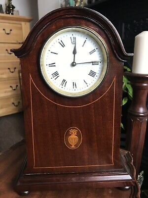 Edwardian French Movement Mantle Clock