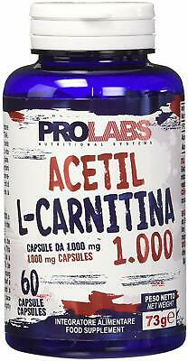Prolabs Acetil L-Carnitina 1000Mg - Barattolo da 60 cpsProlabsB00EONN0DS