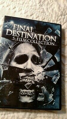 The Final Destination 5 Film collection DVD 1 2 3 4