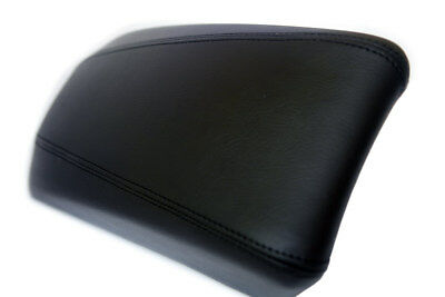 Center Console Armrest Real Leather Cover for Hyundai Sonata 11-14 Black