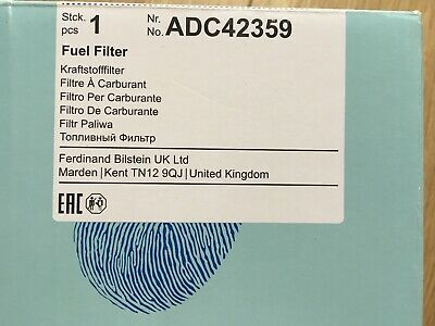 Fuel Filter ADC42359 Blue Print 1770A012 Genuine Top Quality Replacement New
