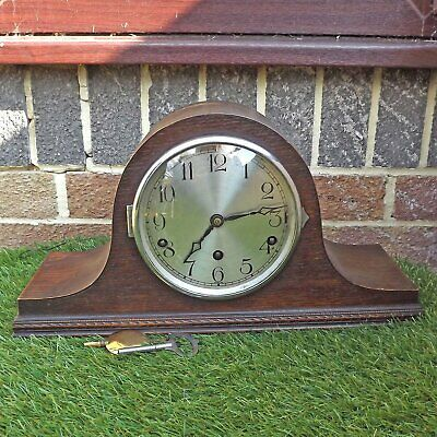 Westminster Chime Clock - FHS Hermle Napoleon Hat - 8 Day - Working Order Chimes